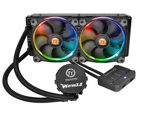 主要看燈光!Tt發表 Water 3.0 Riing RGB一體式水冷散熱器