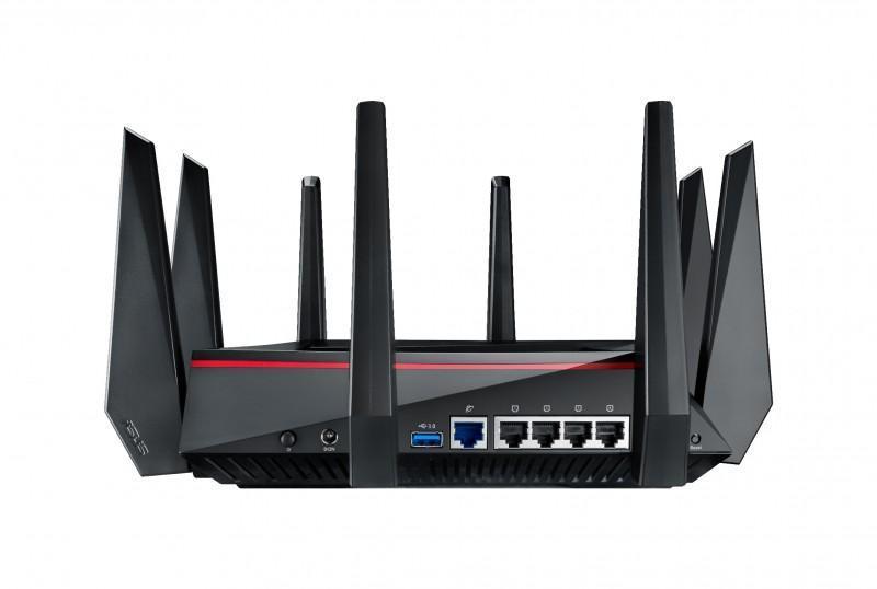 華碩推出全球最快三頻無線分享器RT-AC5300