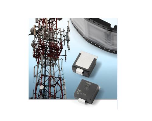 Littelfuse推出電路保護行業首款真正的高功率表面貼裝瞬態抑制二極體以降低生產成本