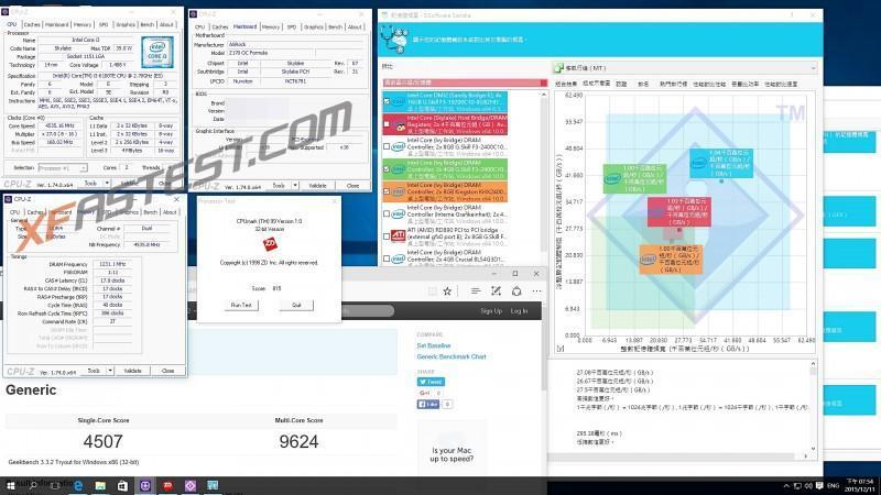 ASRock Z170 OC Formula主機板也能對non K系列鎖頻處理器進行超頻