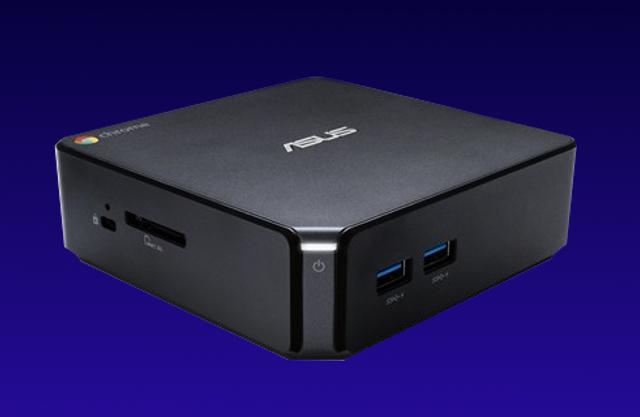 華碩新款Chromebox迷你主機亮相 價格親民