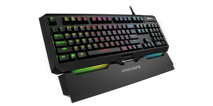Sharkoon推出SharkZone MK80 RGB機械式鍵盤,搭配電競軟體功能更全面