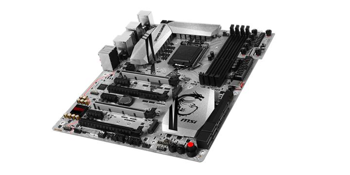 MSI Z170主機板也能搭non K處理器超頻