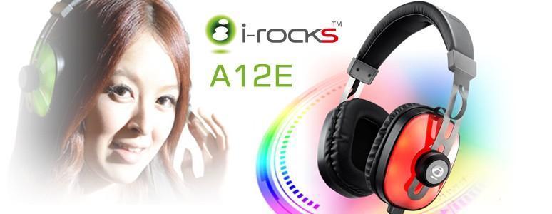 RGB酷炫燈光讓你成為焦點,i-rocks A12E多彩炫光雙模式電競耳機限量推出
