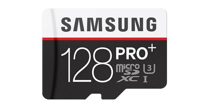 三星推出新款PRO Plus 128GB microSD記憶卡,讀寫達到90MB/s且支援IPX7