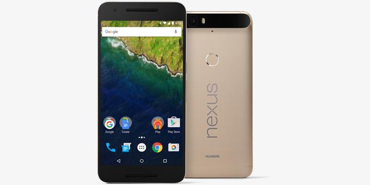 Google Nexus 6P 金色特別版將於印度開賣