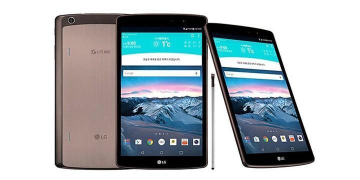 LG G Pad II平板電腦確定,提供觸控筆模式且能擴充記憶卡