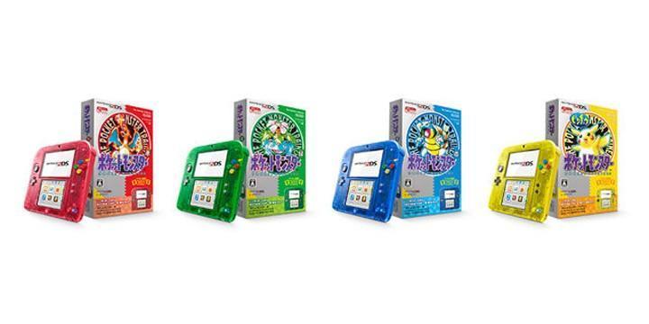 任天堂將要推出Nintendo 2DS神奇寶貝限定版,四種顏色讓你選