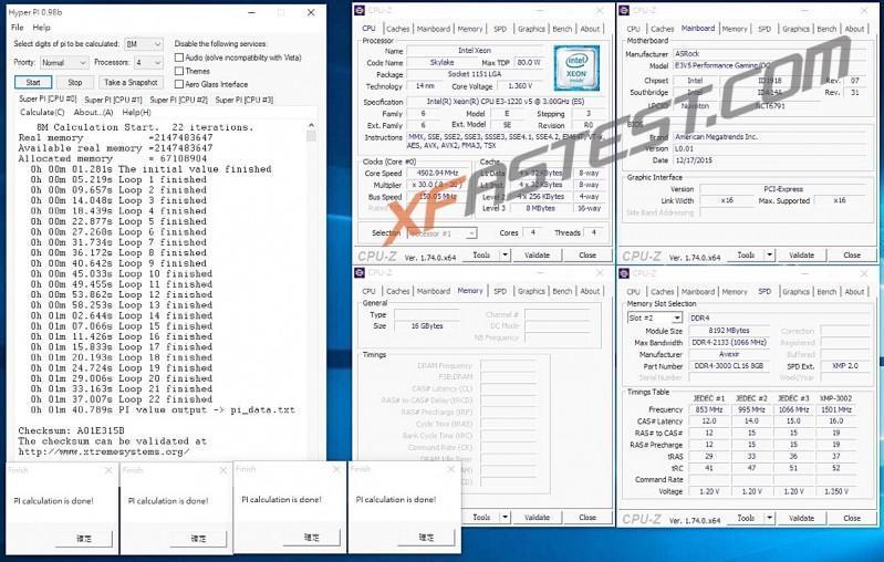 ASRock Fatal1ty E3V5 Performance Gaming/OC能讓你超Xeon處理器外頻