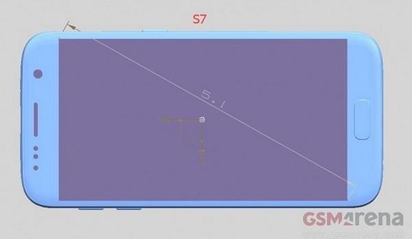 三星Galaxy S7尺寸再曝光:將有三種尺寸!