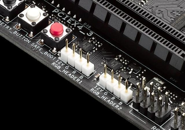 ROG主板新功能:內建RGB LED接頭 閃亮亮的LED燈條自己接!
