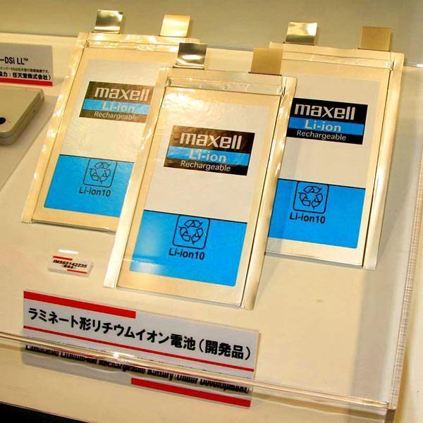 Hitachi Maxell開發新型鋰電池 同尺寸能量密度翻倍