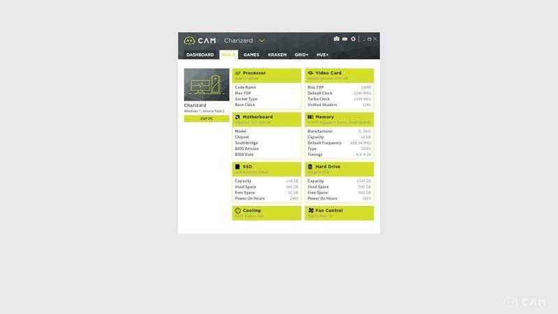 NZXT推出CAM PC監測軟體 3.0版