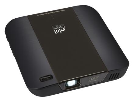 Canon將推出微型投影機:C-10W 解析度達FullHD