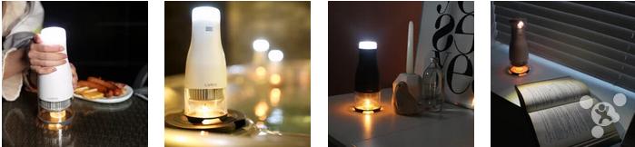 史上最雷人LED燈竟然底部用蠟燭提供能量