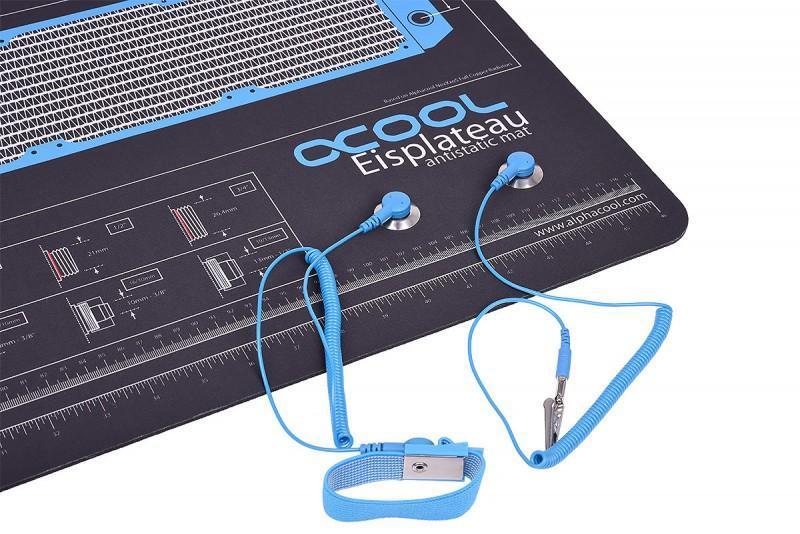 Alphacool Eisplateau 防靜電桌墊 專為水冷改裝玩家量身打造
