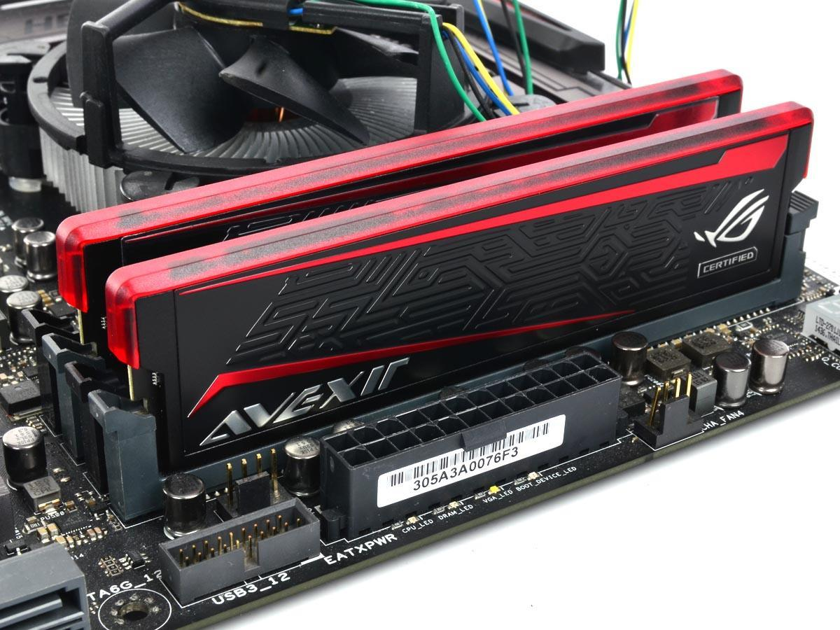 AVEXIR IMPACT DDR4-2666 8GB Kit:ROG Certified 加上LED紅光條,玩家國度最麻吉的記憶體模組 - XFastest - 13.jpg