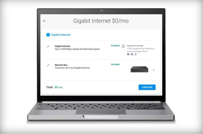 你夢寐以求的千兆網絡,Google要免費提供了