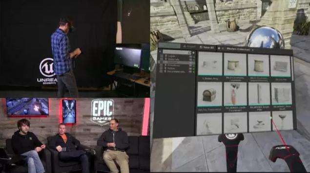 降低開發門檻,UE4引擎全面支持VR遊戲製作