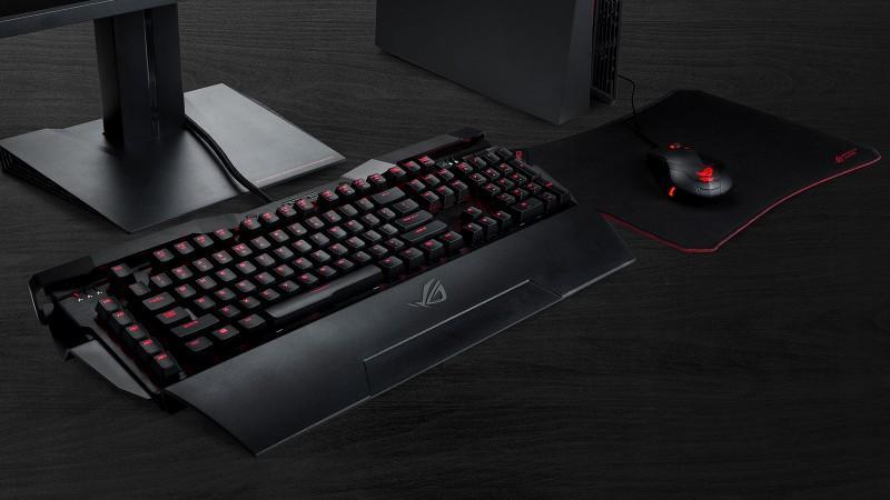 ASUS Republic of Gamers推出首款機械式鍵盤Horus GK2000