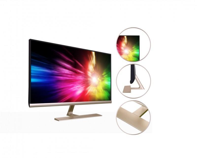 ViewSonic VX2771系列顯示器 金銀雙色 璀璨耀眼