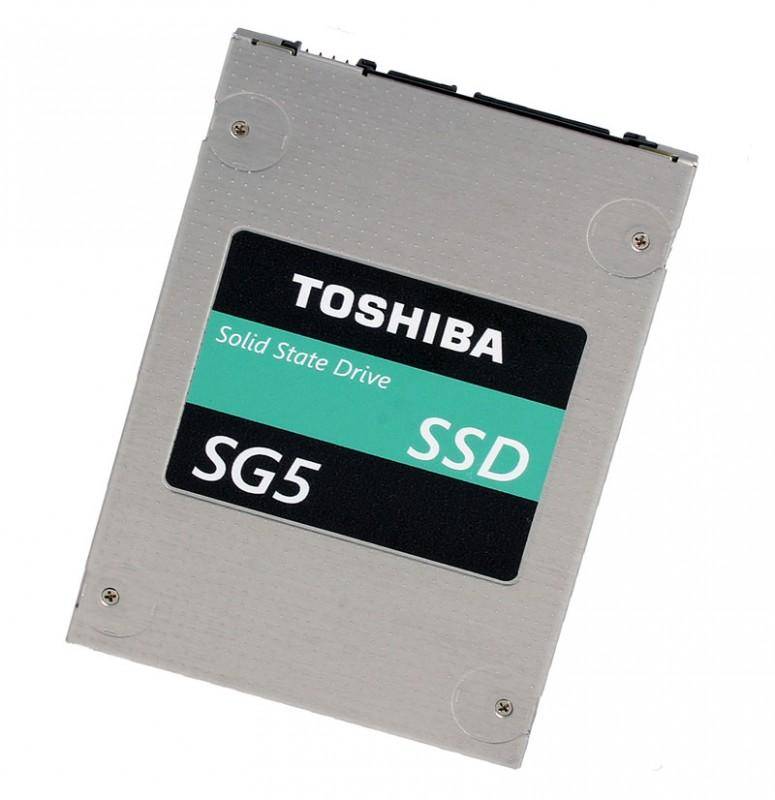 Toshiba發表SG5系列固態硬碟產品使用15nm TLC快閃記憶體顆粒