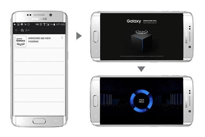 Samsung Unpacked 2016選項加入VR直播 帶來不一樣的發表會體驗