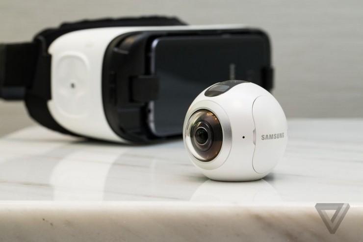 在VR的路上狂奔,三星推出Gear 360全景相機