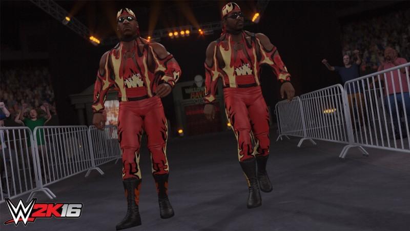 《WWE 2K16》名人堂表演賽包現已推出