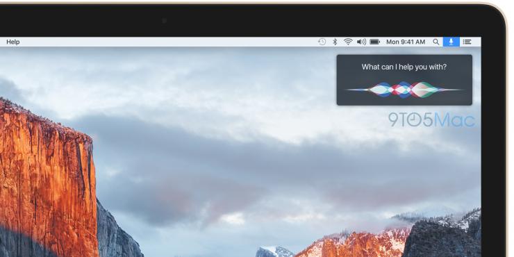 傳Siri 今秋登陸Mac,據說會長成這個樣子