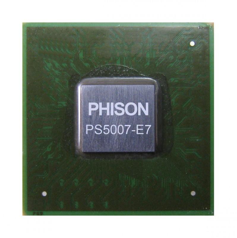 Phison群聯PCIe Gen3 x 4 NVMe SSD 控制晶片PS5007-E7支援3D快閃記憶體