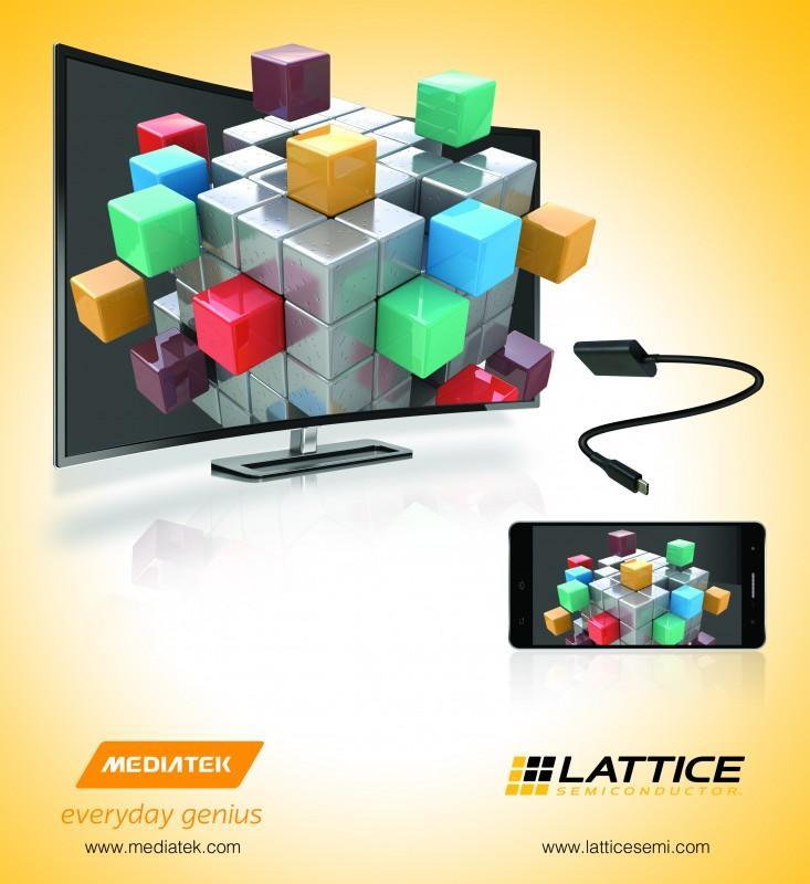 萊迪思半導體與聯發科技攜手推出全球最佳效能USB Type-C 4K視訊解決方案