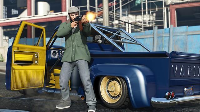 GTA 線上模式「古惑跳跳車:改裝經典」現正推出
