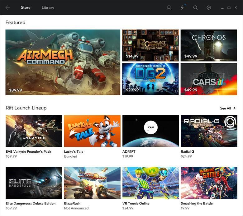 Oculus Rift 3月28發貨,30款VR遊戲將會同時上架,玩家盡情玩吧