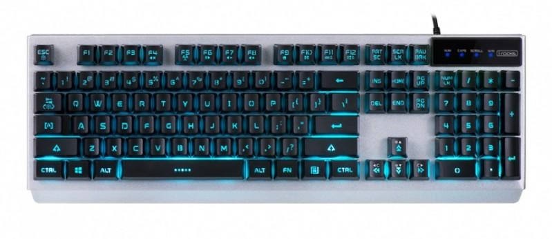 i-rocks即將推出多彩背光金屬遊戲鍵盤K62E