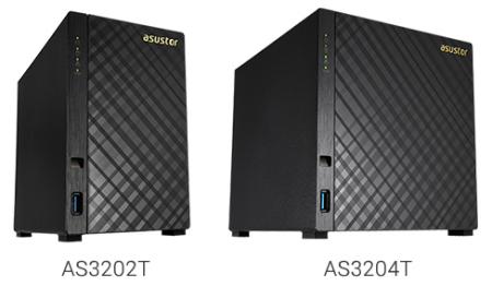 Asustor華芸AS3202T、AS3204T登場 鎖定入門NAS儲存市場