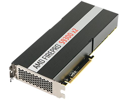 Radeon Pro Duo兄弟?AMD發表FirePro S9300 X2雙核心伺服器卡