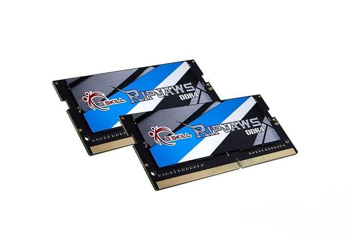 G.SKILL發表Ripjaws系列新款筆電記憶體:32GB DDR4-3000