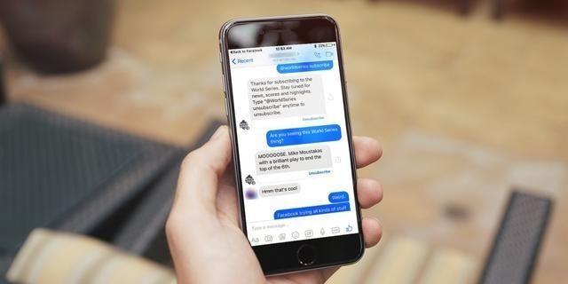 Facebook將發布聊天機器人API,開啟聊天式客服革命?