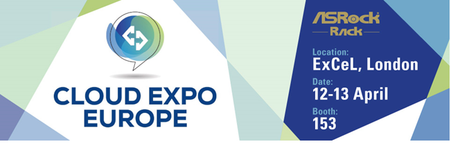 永擎電子首度出席Cloud Expo Europe展示最新雲端運算與存儲技術