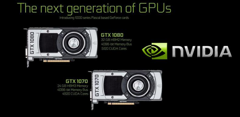 NVIDIA GTX 1000系列7月大規模上市!