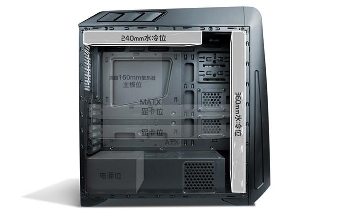內建七色幻彩魔盒,Antec發布魅影GX1200機箱新品