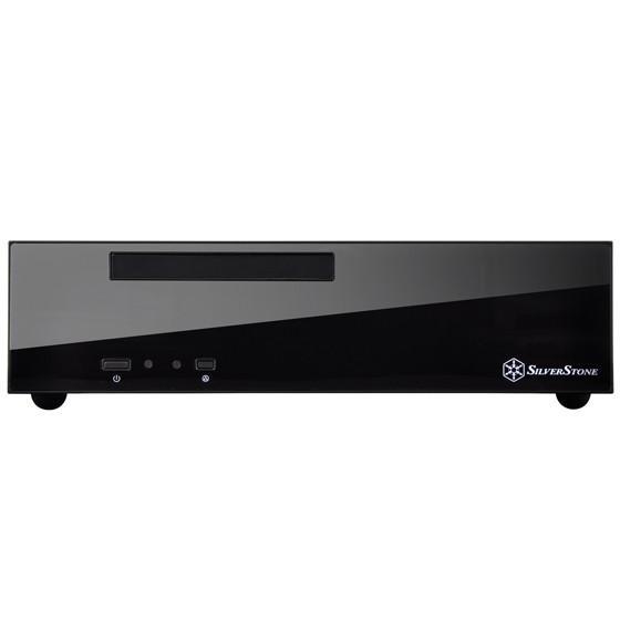 HTPC主機新選擇,SilverStone ML09平躺質感風設計且能安裝光碟機