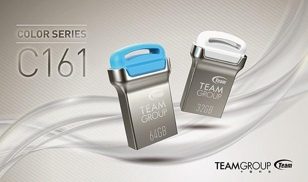 完美演繹微型工藝時尚 十銓科技推出全新系列高質感輕薄鋅合金屬隨身碟
