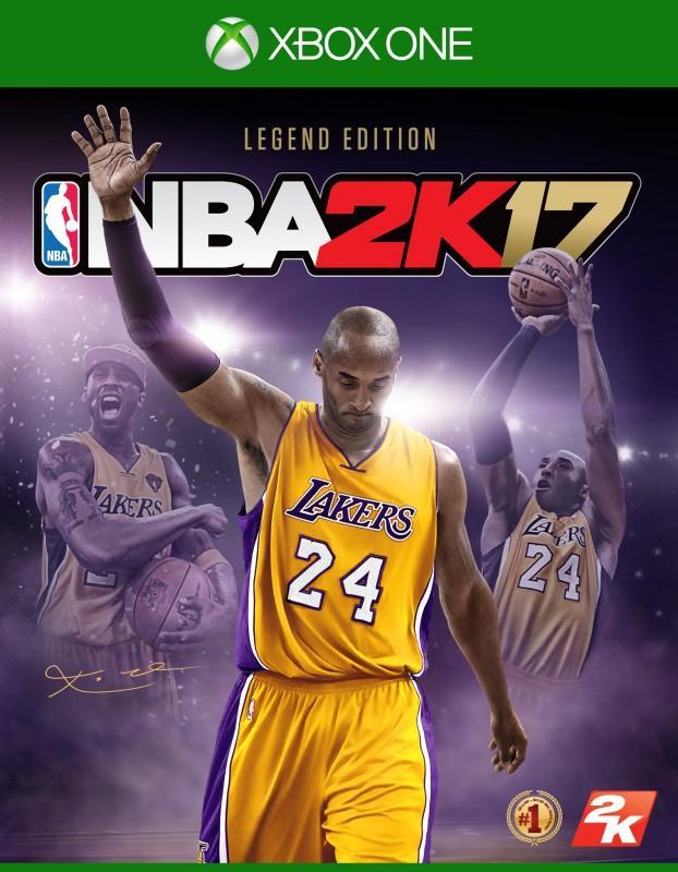 《NBA® 2K17》傳奇珍藏版將讓柯比布萊恩的傳奇故事永垂不朽