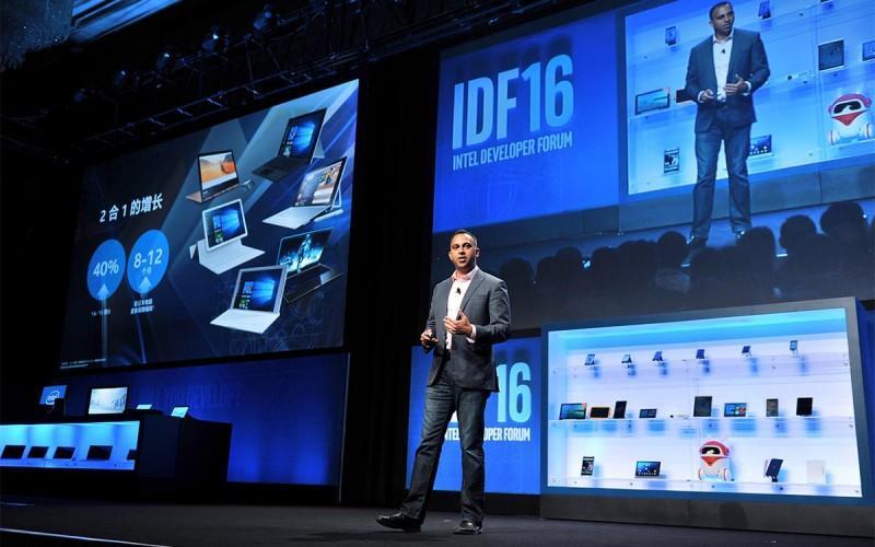 IDF 2016 的物聯網戰略,有手掌大的PC 也有虛擬現實