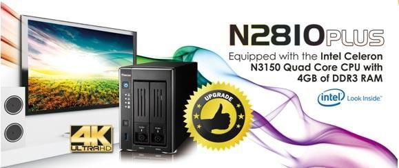 Thecus色卡司 推出N2810PLUS,硬體效能全面升級