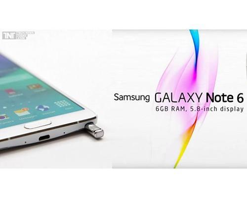 Galaxy Note 6 將有 6GB 記憶體,還有機會配備 IP68 防水防塵技術