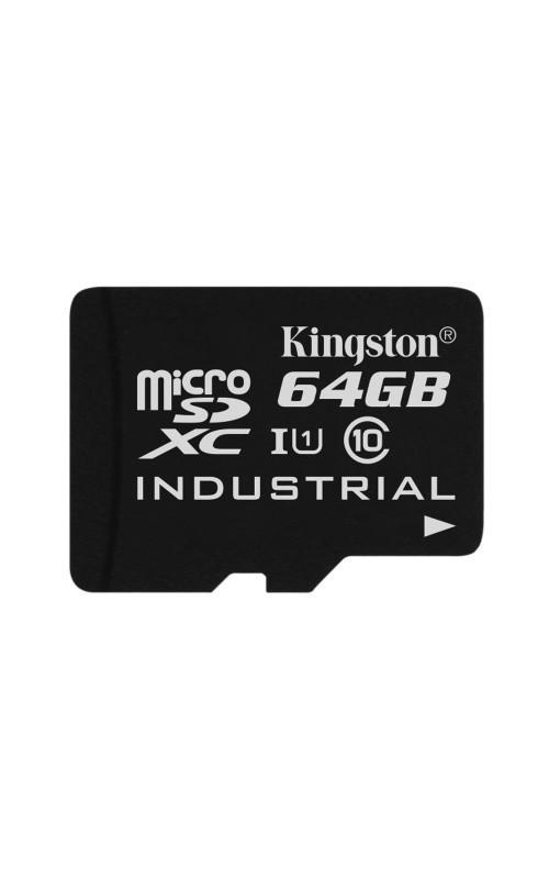 Kingston推出工業用microSD記憶卡