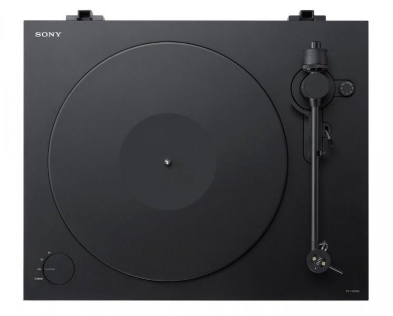 復古風來襲:索尼黑膠轉盤唱機PS-HX500 開始預訂
